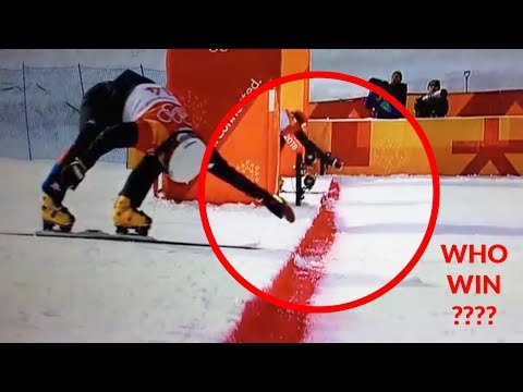 Men Parallel Giant Slalom Lee Kosir - Measurement error? Pyongyang 2018