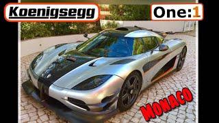 Koenigsegg One:1 sound ! //Monaco