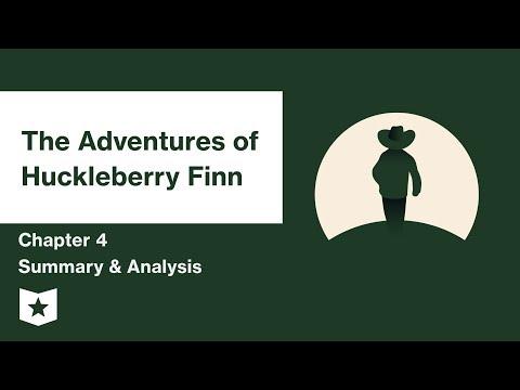 The Adventures of Huckleberry Finn  | Chapter 4 Summary & Analysis | Mark Twain | Mark Twain