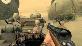 Medal of Honor: Allied Assault Breakthrough - Kasserine Pass Part II (Part 2) [Walkthrough]