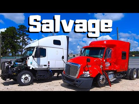 Looking For A NEW PROJECT At Copart   SEMI Truck Hunting   CRAZY Car Wrecks   Salvage Auto Auction