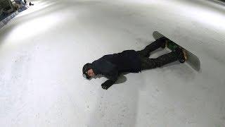 VOOR DE 1E KEER SNOWBOARDEN GAAT NIET ZO LEKKER... #1956