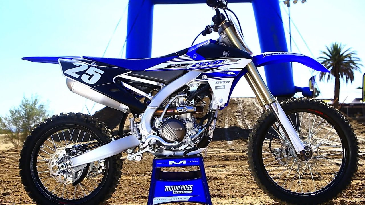 first ride 2016 yamaha yz250f motocross action magazine youtube. Black Bedroom Furniture Sets. Home Design Ideas