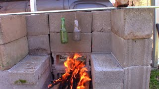 Survival Hack! Boil Water in a Plastic Bottle Over a Campfire