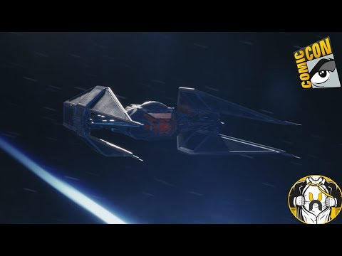 Kylo Ren's NEW Ship First Look and Details! | Star Wars: The Last Jedi