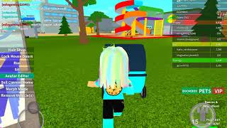 I love ROBLOX so much landed it