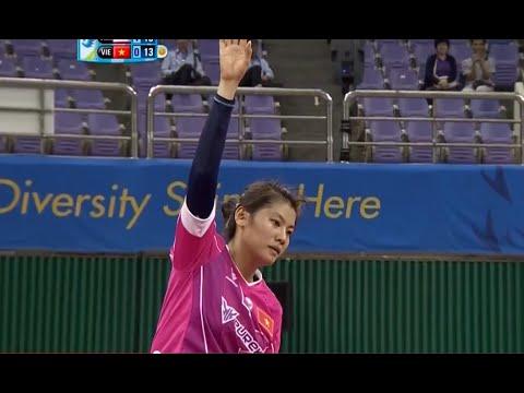 ตะกร้อหญิง ไทย-เวียดนาม Group A 2014 ASIAN GAMES [Semifinal]