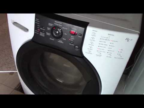 Kenmore Elite FrontSide Washer Spinning At 1,200RPM