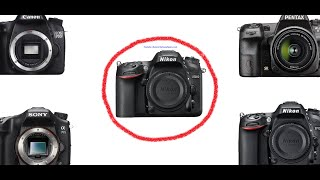 Nikon D7200 main competitors p. 1