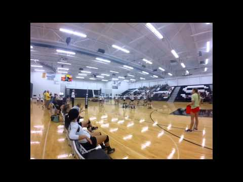 Mandan High School Volleyball Teaser Sept 2015