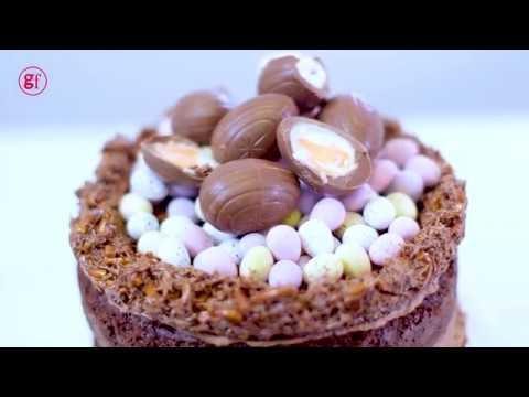 How To Make A Chocolate Cake Bbc Good Food Youtube