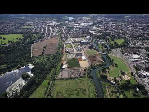 Waterside Campus Aerial Update: June 2018