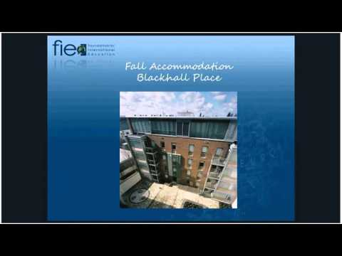 FIE Dublin Spring 2016 Pre-Departure Orientation