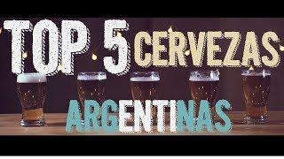 TOP 5 CERVEZAS ARGENTINAS