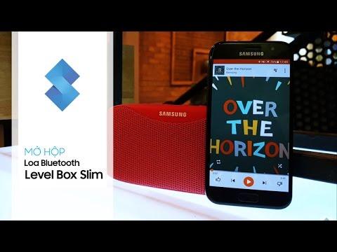 SamsungViet Channel | Mở hộp và Trên tay nhanh Loa bluetooth chống nước Samsung Level Box Slim