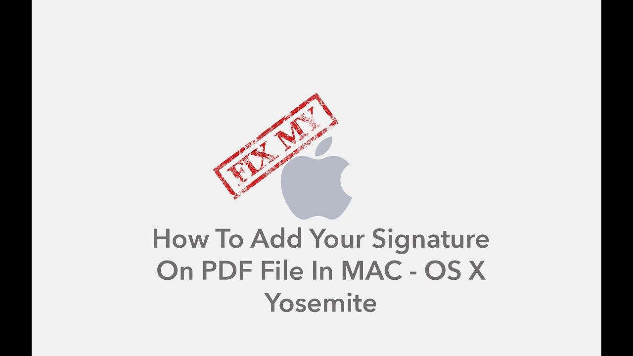Signature Pdf Mac Os X Raiperetrest Ml