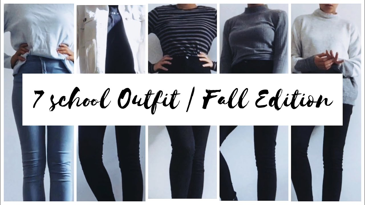 [VIDEO] - 7 school outfits | FALL EDITION ? 3