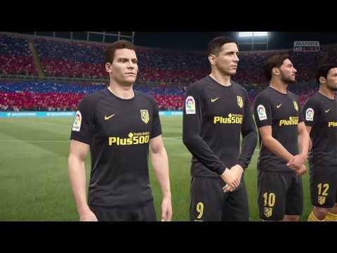FIFA 17    BARCELONA VS ATLETICO MADRID FULL GAMEPLAY (PS4/Xbox One)