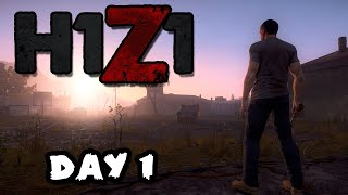 H1Z1 Zombie Survival - DAY 1 Gameplay Let
