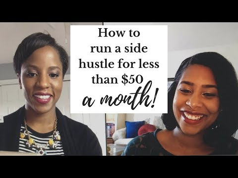 How To Start A Side Hustle For Less Than 50 Bucks A Month + More! (Video Chat Replay)