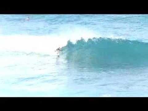 Surfing La Preciosa Dominican Republic