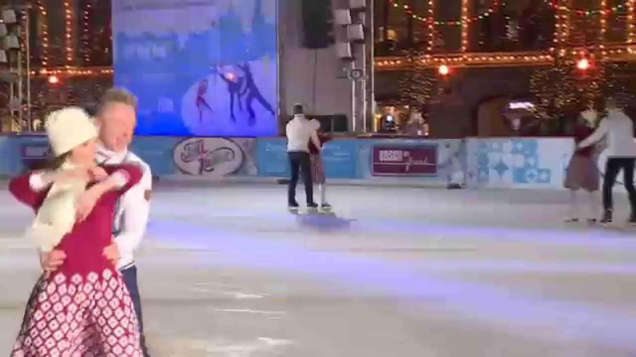 Танец на льду команды Минобрнауки РФ в День студента