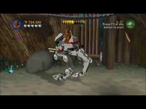 Lego Star Wars Saga - Episode 3 - Chapter 4 - Defense of Kashyyyk - Gameplay/Walkthrough