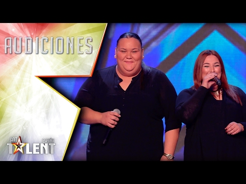 Silvia and Chelo perform a very powerful flamenco song | Auditions 4 | Spain's Got Talent 2017