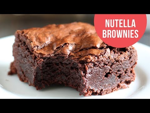 LEGENDARY Nutella Brownies