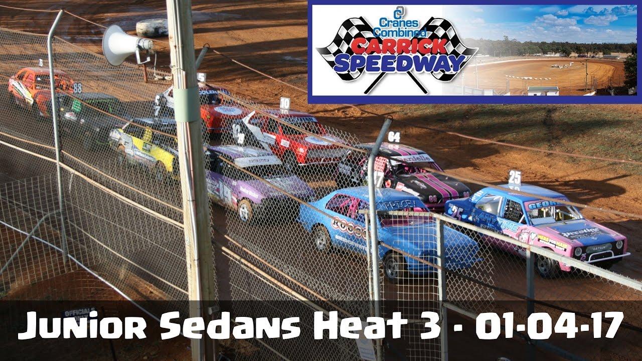 Junior Sedans Heat Carrick Speedway Youtube