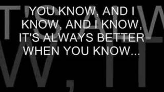 "DRAKE BELL ""I KNOW"" (LETRA)"