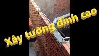 Phương pháp xây tường gạch nhà thô mộc (SEACONS) - How to build a brick wall