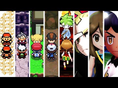 Evolution Of Superboss Pokémon Battles (1996 - 2019)
