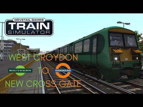 The South London Line   West Croydon to New Cross Gate - Train Simulator  