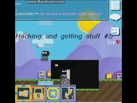 Growtopia-Hacking and getting stuff #5 wallhack  (got Razor wing and many wls)