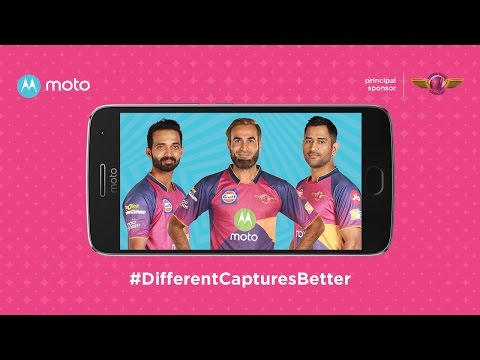 Thumbnail: different captures better with moto & Rising Pune Supergiant