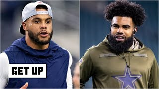 The Cowboys can't give Dak, Zeke and Amari Cooper max contracts this season – Carpenter | Get Up