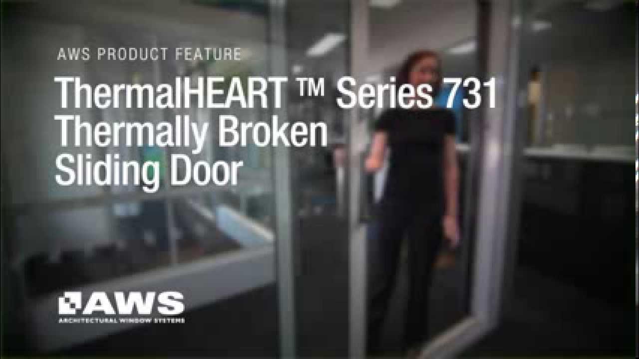 Vantage Series 731 Thermalheart Sliding Door Overview Youtube