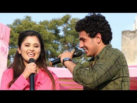 Diler Kharkiya Anjali Raghav Live Show Rohtak ..  Dil Music