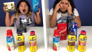 Twin Telepathy Milkshake Challenge