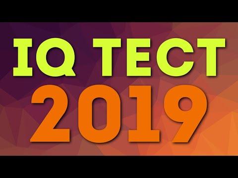 IQ ТЕСТ 2019 Проверь свой интеллект