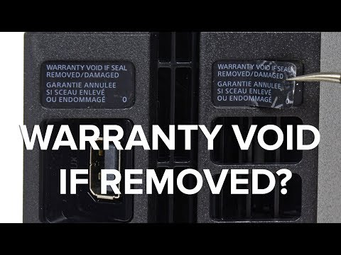 Remove All Your Warranty Void Stickers But Send Us