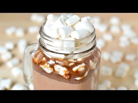 Как приготовить горячий шоколад в домашних условиях из шоколада