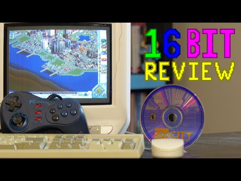 SimCity 3000 Review; 16 Bit Game Review