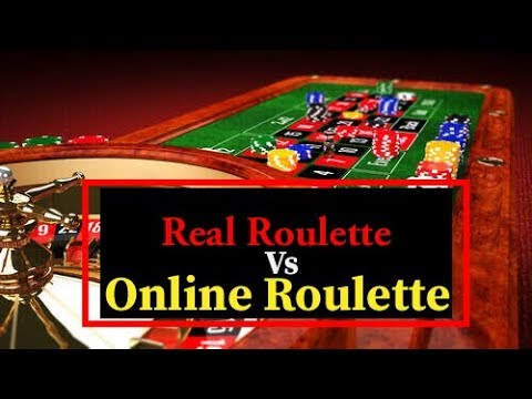 Real ROULETTE Vs Online ROULETTE