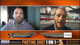 Dimitri Waardenburg talks TKO 41 title fight Dec. 8 & having UFC vet Patrick Cote as his manager