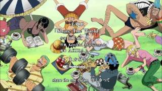 One Piece Opening 10 - Share the World. [HD]