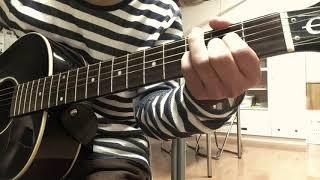 崎山蒼志/旅の中で (ギターcover)