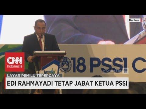 Edi Rahmayadi Tetap Jabat Ketua Umum PSSI Walaupun Menjadi Cagub Pilkada Sumut