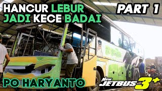 Download Video REBUILDING WRECKED BUS |  PROSES PEROMBAKAN BODY BUS PO HARYANTO | PART1 MP3 3GP MP4